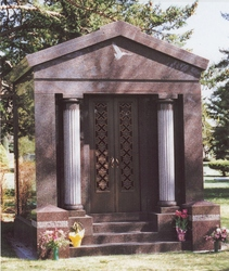 Mausoleums Family Estates Crypts Customized Personalized Affordable Kapsa Monuments
